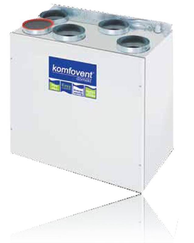 Вентиляция komfovent domekt rego-250pw1