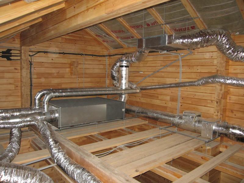 Монтаж вентиляции в частном доме своими руками